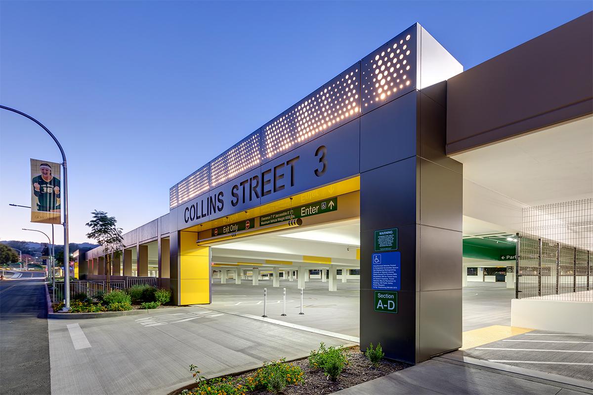 Cal Poly Pomona Parking Structure 2 Parksmart